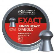 Пульки для пневматики JSB Exact Jumbo Heavy Diabolo кал. 5.52 мм 1,175г. 500 шт.