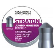 Пульки пневматические JSB Diabolo Straton Jumbo Monster, 5.51 мм, 1.645 г