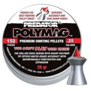 Пульки пневматические JSB Predator Polymag 6.35 мм 1,645 грамма (150 шт.)
