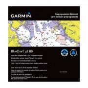 Карты глубин GARMIN Bluechart g2