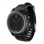 Навигатор-часы Garmin Fenix 3 Gray серые с черным ремешком