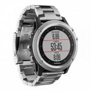 Навигатор-часы Garmin Fenix 3 HR Silver (титан)