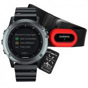 Навигатор-часы Garmin Fenix 3 HRM (metal) Sapphire