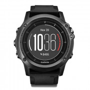 Навигатор-часы Garmin Fenix 3 Sapphire HR с черным ремешком