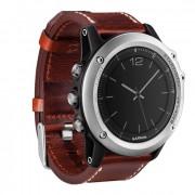 Навигатор-часы Garmin FENIX 3 Sapphire с кожаным ремешком