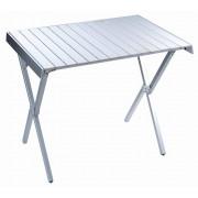 3809 Alu. Rolling Table стол скл. алюм