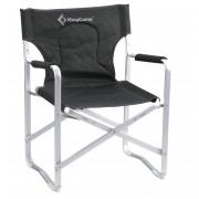 3811 Delux Director chair   кресло скл. алюм