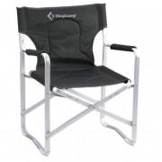 3851 Delux Director chair   кресло скл. алюм