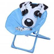 3874 Child Moon Chair стул скл. дет. сталь