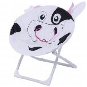3876 Child Moon Chair   кресло скл. детское cталь