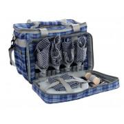 2713 4 person cooler bag набор-сумка д/пикн