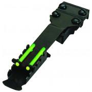 Целик оптоволоконный Hiviz Double Dot Rear Sight узкий TS2002