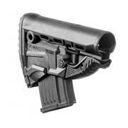 Приклад FAB-Defense с магазином на 10 патр. 7.62х39 для AK47/АК74/САЙГА GK-MAG, без трубки (чёрный)