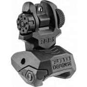 Целик (диоптр) тактический складной на планку Weaver/Picatinny FAB-Defense RBS (чёрный)