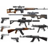Тюнинг по моделям оружия