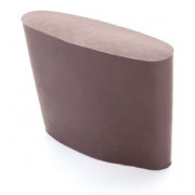 Тыльник на приклад невентилируемый с чулком, коричневый