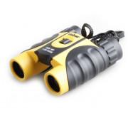 Бинокль Veber WP 10x25 черный-желтый