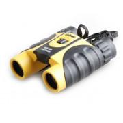 Бинокль Veber WP 8x25 черный-желтый